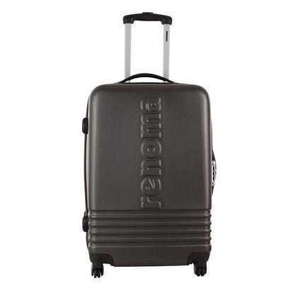 Větší šedý kufr Renoma