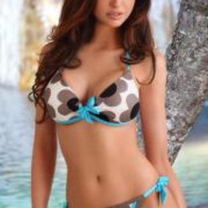 LUPOLINE Dámské dvoudílné plavky Lupoline Kate - pro menší poprsí 36C