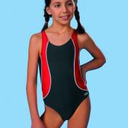 Kvalitní dívčí jednodílné plavky Gwinner Otylka I