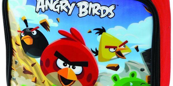 POLAR GEAR - chladící taška- box na svačinu se známými Angry Birds