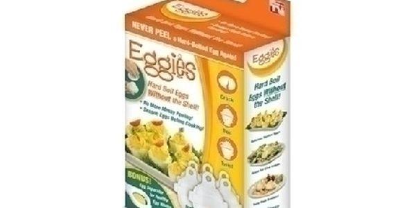 Eggies – formičky na vajíčka. Ušetřete čas a nervy při loupání vajíček !