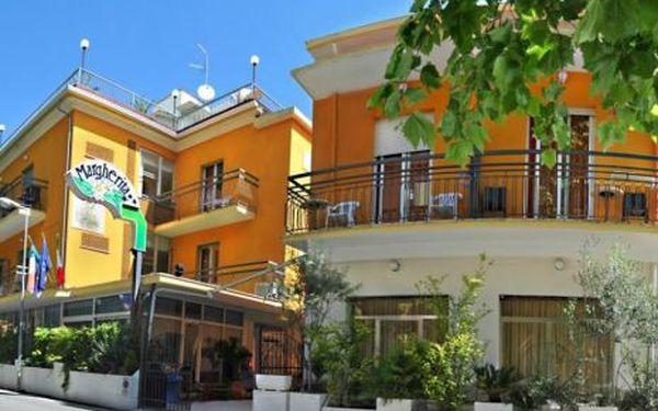 Itálie, oblast Rimini, snídaně, ubytování v 3* hotelu na 8 dní