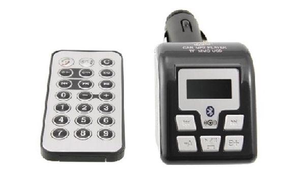 FM Transmitter Arkas CN-FMBT01, podpora Bluetooth handsfree, černý za jedinečnou cenu na trhu !