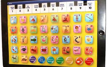 Baby Tablet - Mac Toys 82006. Skvělý interaktivní dětský tablet, který pomáhá dětem s výukou