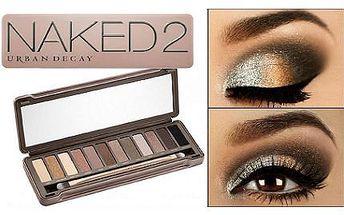 Beauty TIP: Paletka kouřových očních stínů NAKED 2