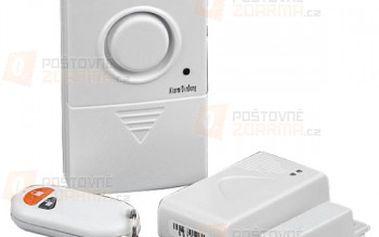 Signalizační alarm na dveře nebo okna s dálkovým ovládáním a poštovné ZDARMA! - 17203022