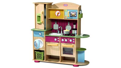 Dřevěná kuchyňka Cookin' Creation Kitchen Little Tikes 618697