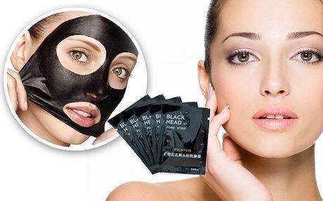 Korejská černá maska na čištění pórů