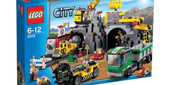 Stavebnice lego city 4204 - důl