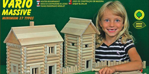 Dřevěná stavebnice walachia w25 - vario massive