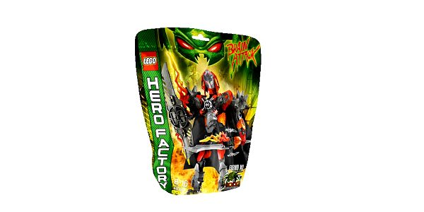 Stavebnice lego hero factory 44000 furno xl