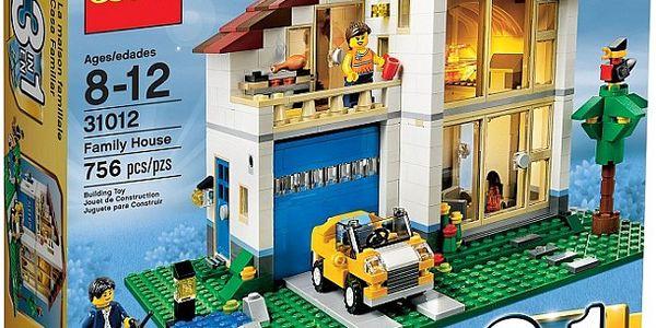 Stavebnice lego creator 31012 rodinný domek
