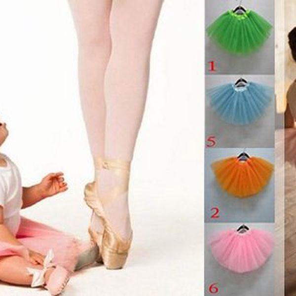 Udělejte radost Vaší holčičce nadýchanou tutu sukýnkou, vybírejte z různých barev, každá parádnice si ji zamiluje!