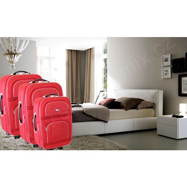 Sada cestovních kufrů na kolečkách DENR