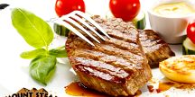 2x 300 g Rumpsteak Country z býčka v restauraci Mount Steak
