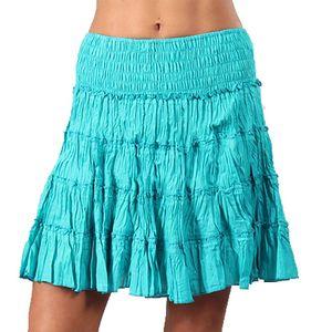 Dámská krátká tyrkysová sukně Aller Simplement