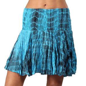 Dámská tyrkysová batikovaná sukně Aller Simplement