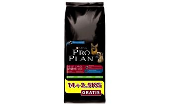 Purina Pro Plan Dog Adult Large Athletic 14+2,5 kg