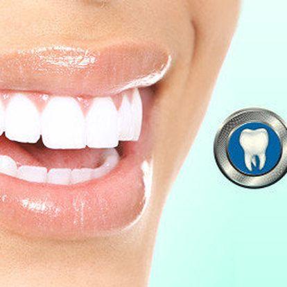 Dentální hygiena či bělení zubů