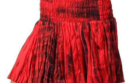 Dámská červená batikovaná sukně Aller Simplement