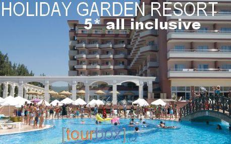 Turecko, 8 dní s All Inclusive, 5* Holiday Garden Resort od 12 990 Kč! Stačí zaplatit 90 Kč za prebooking.