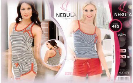 Kvalitní dámské pyžamo v trendových barvách včetně poštovného. Dámské pyžamo z příjemného materiálu vám přijde vhod v letních dnech.