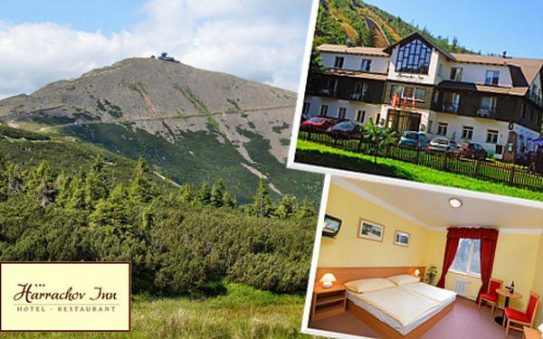 3 nebo 6 dní v hotelu Harrachov Inn pro dva včetně polopenze
