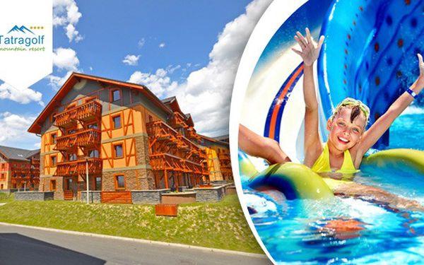 Léto v největším AquaFun Parku v Tatrách