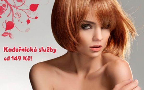 Nejžádanější kadeřnické služby: střih pro všechny délky vlasů za 149 Kč, melírování od 149 Kč a barvení od 169 Kč! Nechte vyniknout krásu svých vlasů díky modernímu střihu a zářivým odstínům barvy či melíru ze studia Sedmikráska 1 na Praze 10!