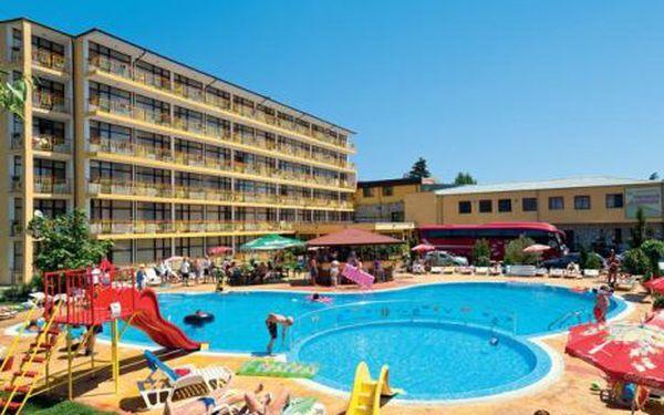 Bulharsko, oblast Slunečné Pobřeží, polopenze, ubytování v 3* hotelu na 8 dní