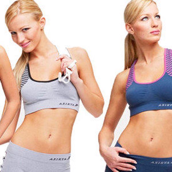 Sportovní fitness dámské komplety z funkčních materiálů
