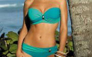 Krásné kvalitní dámské dvoudílné plavky Marko M-259 Liliana Amalfi-Maldive (19c) Zelené