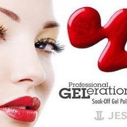 Gelové lakování Jessica Geleration na rukou i nohou