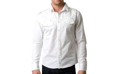 Pánská bílá košile RNT23