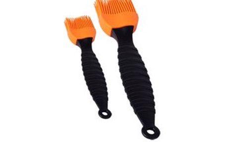 Mašlovačka silikonová sada 2 ks, oranžová RENBERG RB-3650oran