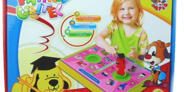 Dětská hra Pafíkův učitel za 135 Kč! Jako dárek Pafíkovo razítko!