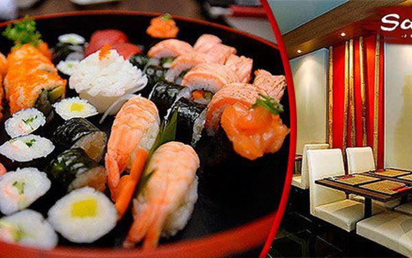 Menu pro 2 osoby v japonské restauraci Samurai