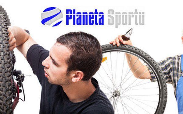 Malý nebo velký servis kola v Planetě Sportu