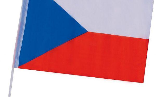 Autovlajka České republiky - fanděte v národních barvách!