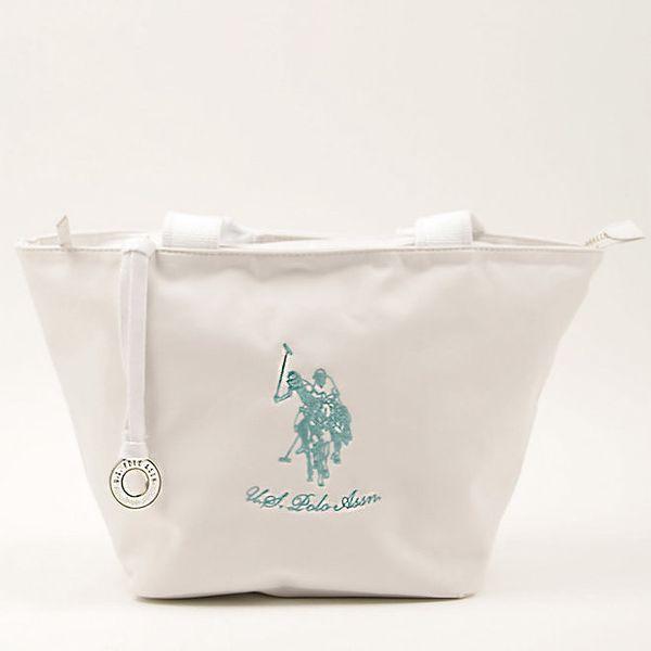 Dámská bílá kabelka se dvěma uchy U.S. Polo