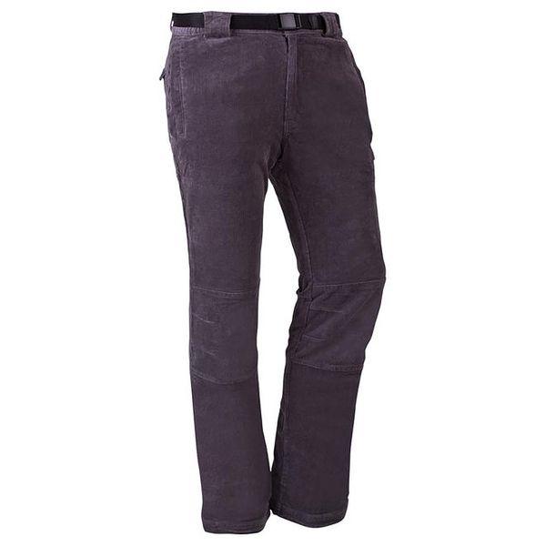 Pánské tmavě šedé bavlněné kalhoty Goritz