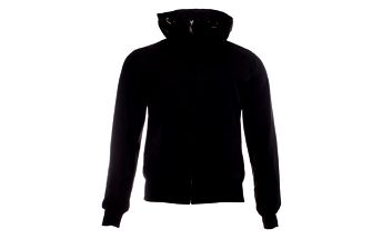 Pánská černá jarní bunda Refrigue s kapucí