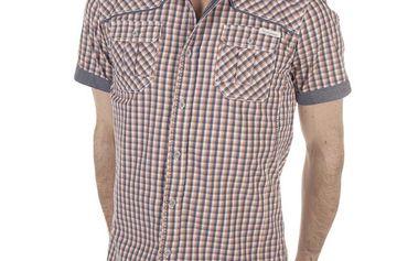 Pánská kostkovaná košile s kapsami SixValves