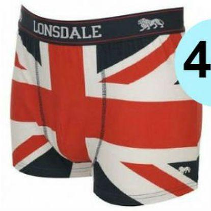 Pánské boxerky LONSDALE - limitovaná edice