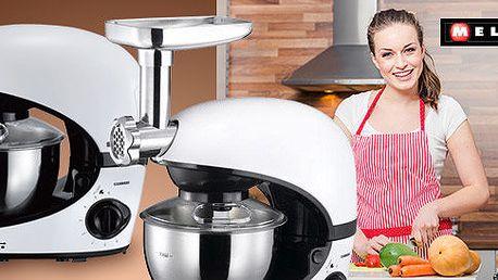Kuchyňský robot Melissa – práce všeho druhu