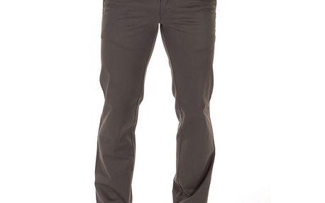 Pánské šedohnědé plátěné kalhoty Bendorff