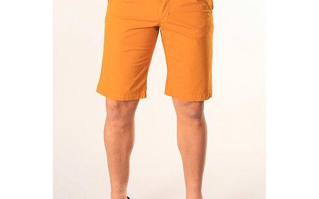 Pánské oranžové kraťasy SixValves