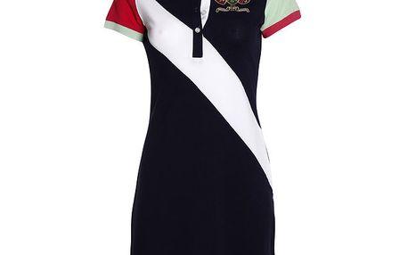 Dámské šaty s barevnými rukávky Signore dei Mari