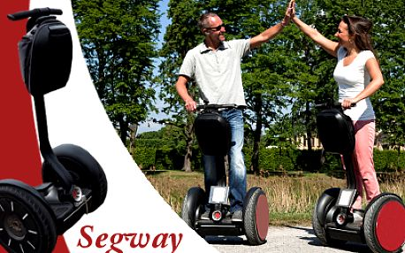 Jízda na vozítku Segway od 249 Kč! Autokemp Merkur Pasohlávky u nádrže Nové Mlýny!