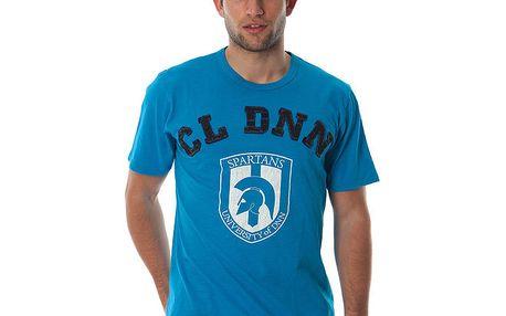 Pánské tyrkysové triko Cristian Lay